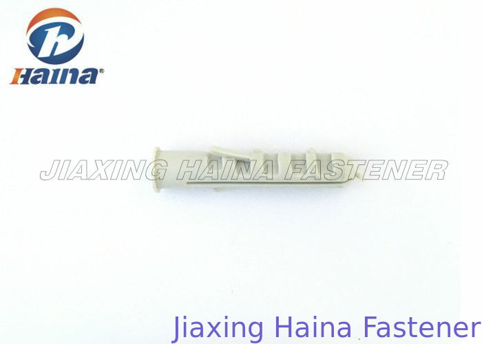 Corrosion Resistance Drywall Plastic Anchors For Concrete Internal Thread