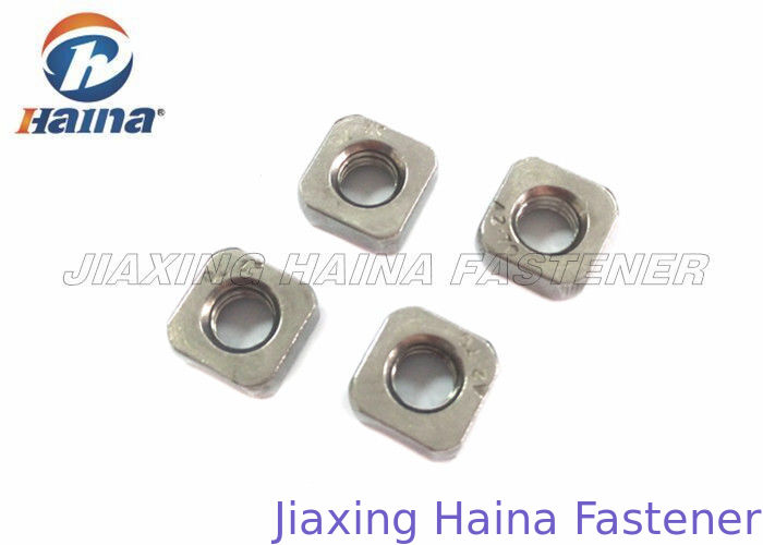 A2 70 Stainless Steel Nuts M10 Chamfer Resistance Right Hand To Loosening