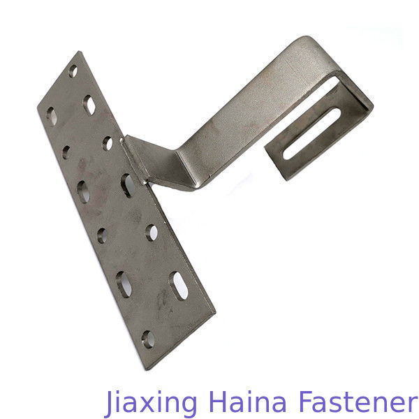 Mounting Hardware Solar Tile Roof Hook Custom Fasteners For Pitched Roof Installation