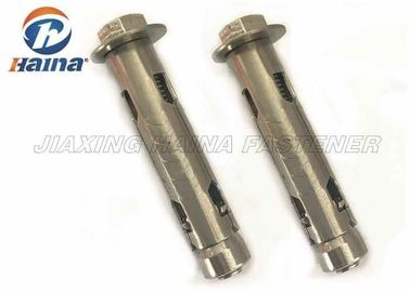 Customized Stainless Steel Anchor Baut, A2-70 304 Sleeve Anchor Baut dengan Washer
