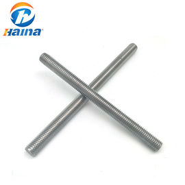 Cina M4 - M42 B7 Threaded Steel Rod, Galvanized Threaded Rod In Plain Colour pabrik