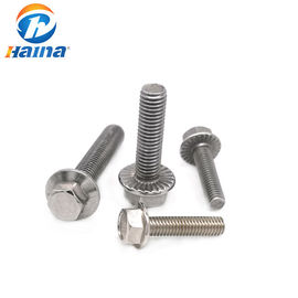Baut Stainless Steel Warna DIN6921, Hex Flange Bolt Dengan Panjang 50mm