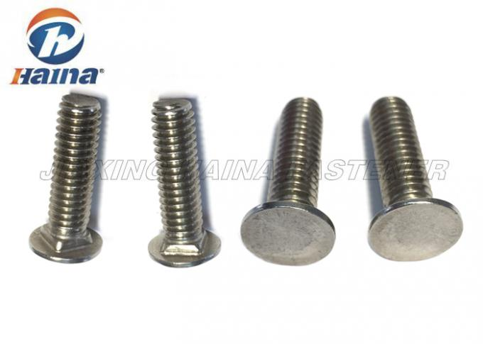 A2 A4 304 316 M10 M12 M16 DIN605 Carriage Bolt Stainless Steel CSK Head