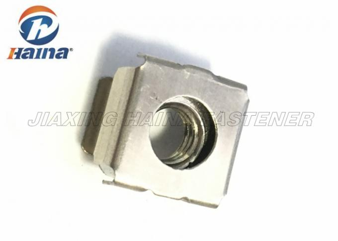 YJT 1056 Square Cage Nut Stainless Steel Plain Color M5 Stainless Steel Nuts
