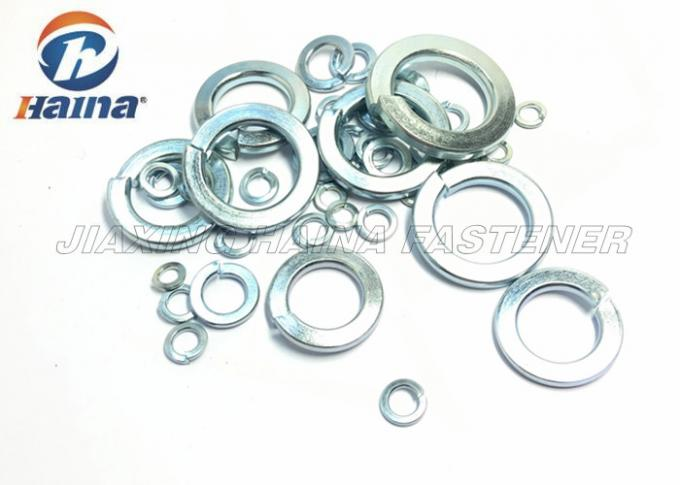 Zinc Plated Flat Metal Washers  M2 - M100 , Spring Loaded Washer Carbon Steel